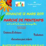 Marché de printemps 2017